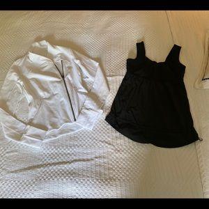 B1G1 lululemon jacket and tank top!